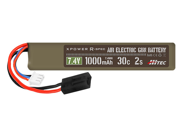 XPOWER R-SPEC AIR ELECTRIC GUN BATTERY Li-Po 7.4V 1000mAh 30C 2S