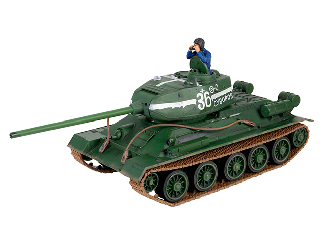 1/24 2.4GHz BATTLE TANK SERIES Soviet T-34/85