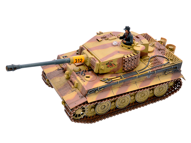 1/24 2.4GHz BATTLE TANK SERIES German Tiger I (Late Production)